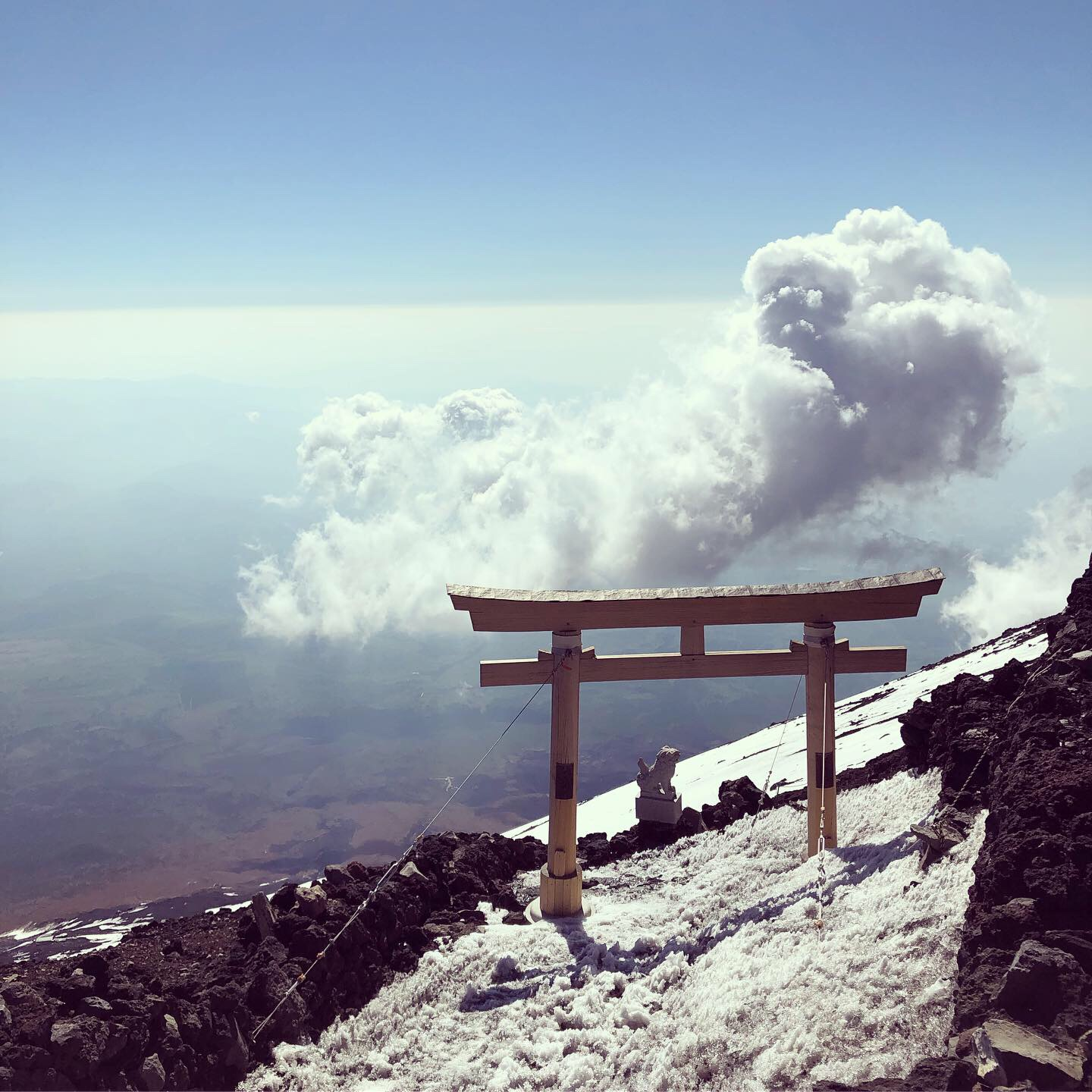 Mount Fuji Ascent 3776D