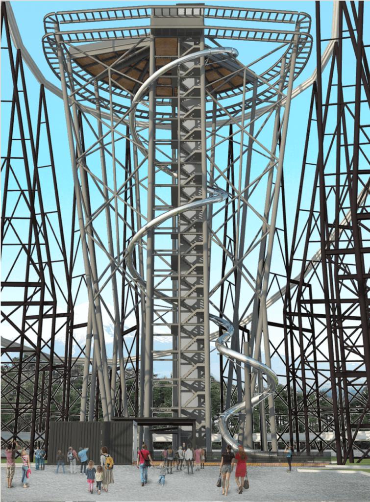 Fujiyama Tower 2 - 3776D