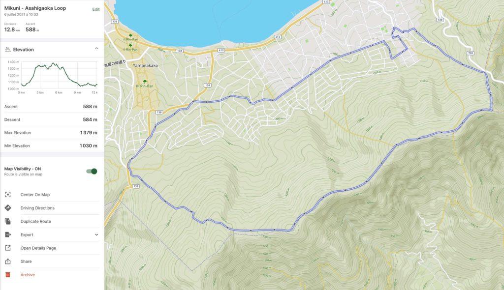 Mikuni - Asahigaoka Loop